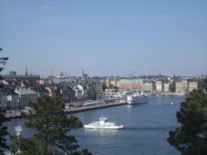 Forssman Übersetzer Stockholm Blick von Södermalm auf Gamla Stan
