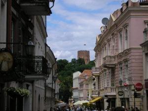 Forssman Übersetzer Blick auf den Gediminas-Turm