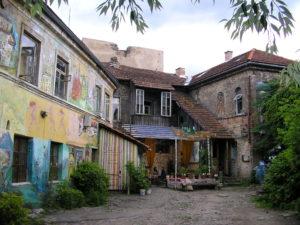 Forssman Übersetzer Stadtteil Uzupis in Vilnius