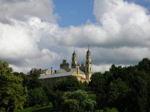 Forssman Übersetzer Blick auf Herz Jesu in Vilnius