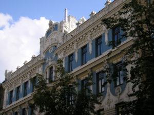 Forssman Übersetzer Riga Jugendstilfassade Eisenstein
