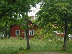 Forssman Übersetzer Rotes Holzhaus Smaland