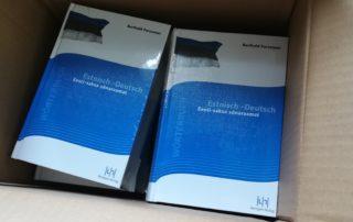 Forssman Übersetzer Wörterbuch Estnisch Deutsch