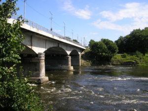 Forssman Übersetzer Grenzbrücke Narva