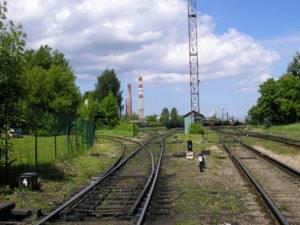 Forssman Übersetzer Bahngleise Lettland