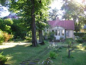 Forssman Übersetzer Holzhaus in Jurmala