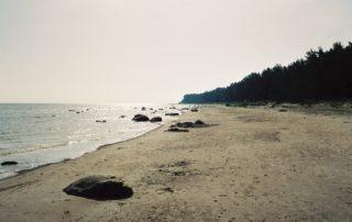 Forssman Übersetzer Strand in Kurland