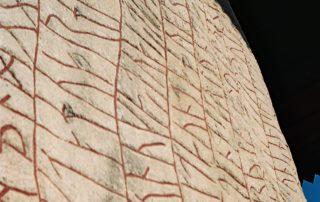 Forssman Übersetzer Runenstein von Rök