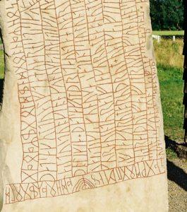 Forssman Übersetzer Runenstein Rök